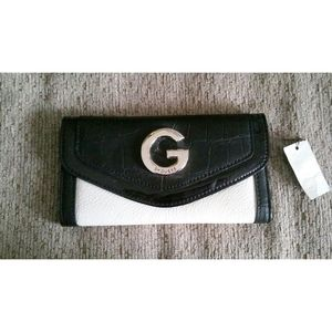 Black & White G By Guess Wallet